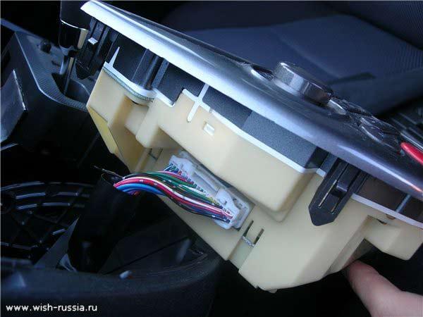 панель виш тойота разобрать как переднию. как разобрать переднию панель тойота виш.
